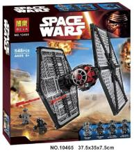 Bela10465 541pcs Star Wars First Order Special Forces TIE Fighter F-O-S-F Fighter MiniFigures legoed 05005