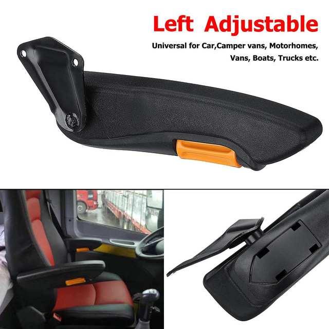 TOPSALE Car Universal Adjustable Car Seat Armrest For Rv Motorhome Truck Auto Parts Left