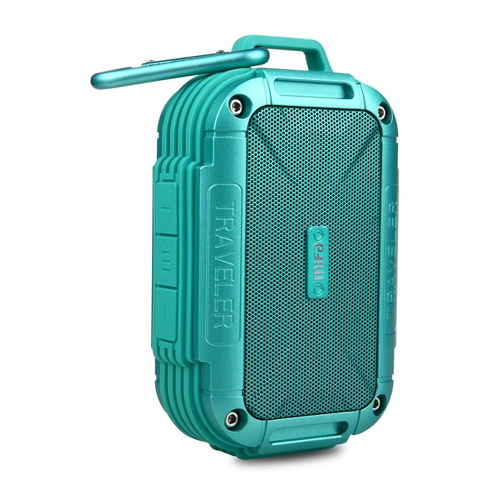 MIFA F7 Bluetooth 4,0 Lautsprecher IP56 Staubdicht Wasserdicht lautsprecher, AUX. Camping Lautsprecher Metall Gehäuse Stoßfestigkeit lautsprecher