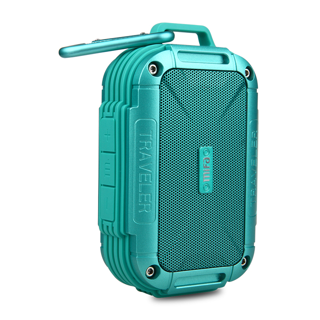 MIFA F7  Bluetooth 4.0 Speaker IP56 Dust Proof Water Proof speaker,AUX.Camping Speakers Metal Housing Shock Resistance Speakers