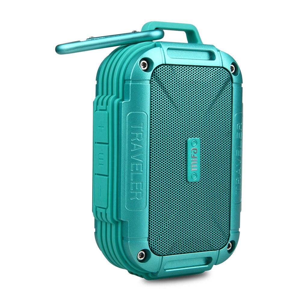 MIFA de F7 Bluetooth 4,0 altavoz IP56 a prueba de polvo a prueba de agua altavoz AUX Camping altavoces carcasa de Metal resistencia altavoces