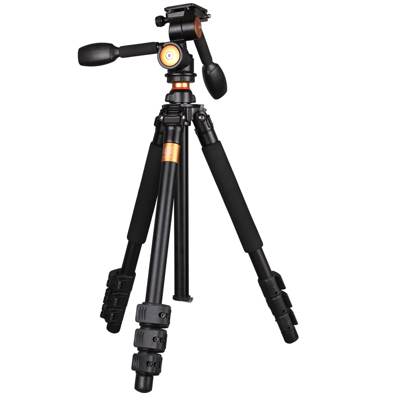 DHL Shopping Qingzhuangshidai Q470 SLR camera tripod camera tripod head three-dimensional scaffold dhl gopro benro a550fhd2 urban elf kit aluminum tripod three dimensional head camera tripod