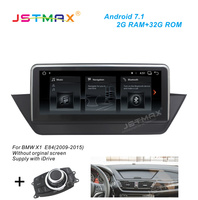 JSTMAX 10.25 Android 7.1 Car GPS Navi Radio head unit player For BMW X1 E84 2009 2015 car Multimedia Player GPS Navigation DAB+