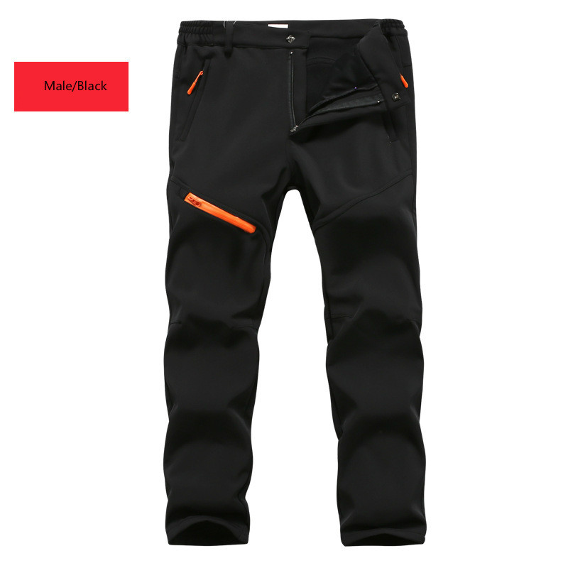 Skiing Pants Skiing & Snowboarding Autumn And Winter Big Code Waterproof Windproof Soft Shell Ski Outdoor Climbing Trousers Thickening Assault Trousers 2019 Official