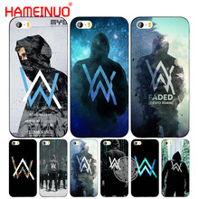 HAMEINUO alan walker wyblakłe obudowa telefonu komórkowego etui do iphone 6 4 4s 5 5s SE 5c 6 6s 7 8 plus etui na iphone 7 X(China)