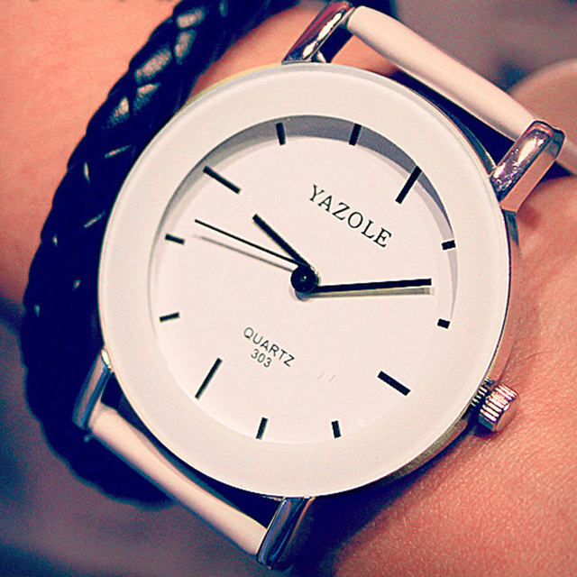 Watches Women Fashion Ladies Quartz Watch Yazole Student girl Clock Simple Desig