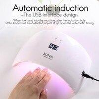 Nail Dryer Makeup Tool UV LED Lamp Nail 24W UV Lamp Nail Gel Polish Machine SUN9X Manicure Pedicure Varnish Dryer
