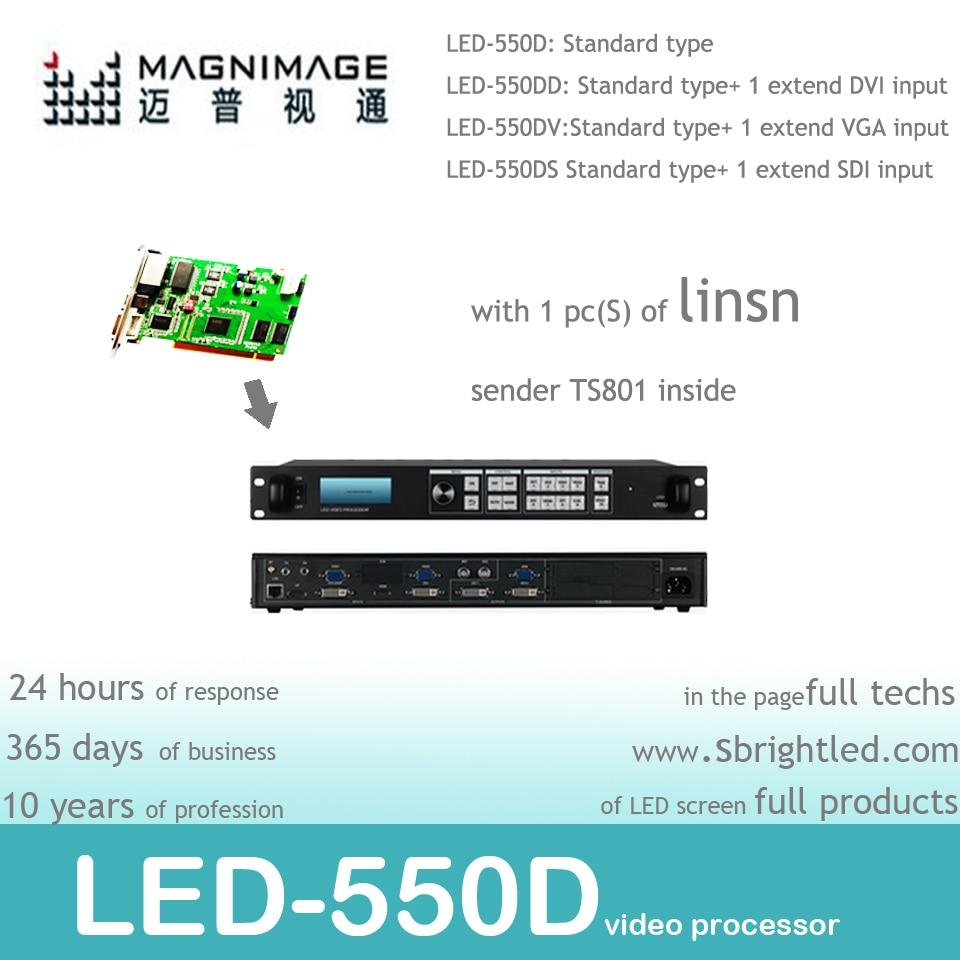 безкоштовний MAGNIMAGE LED-550D + 1шт Linsn TS802 - Домашнє аудіо і відео - фото 2