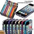 De aluminio de la caja, metálicas lujo 0.7 mm Ultra delgado de parachoques del marco para el iPhone 5 5 G 5S