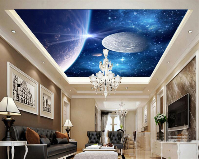 Interieur Slaapkamer Behang : Beibehang d grote interieur behang fantastische persoonlijkheid