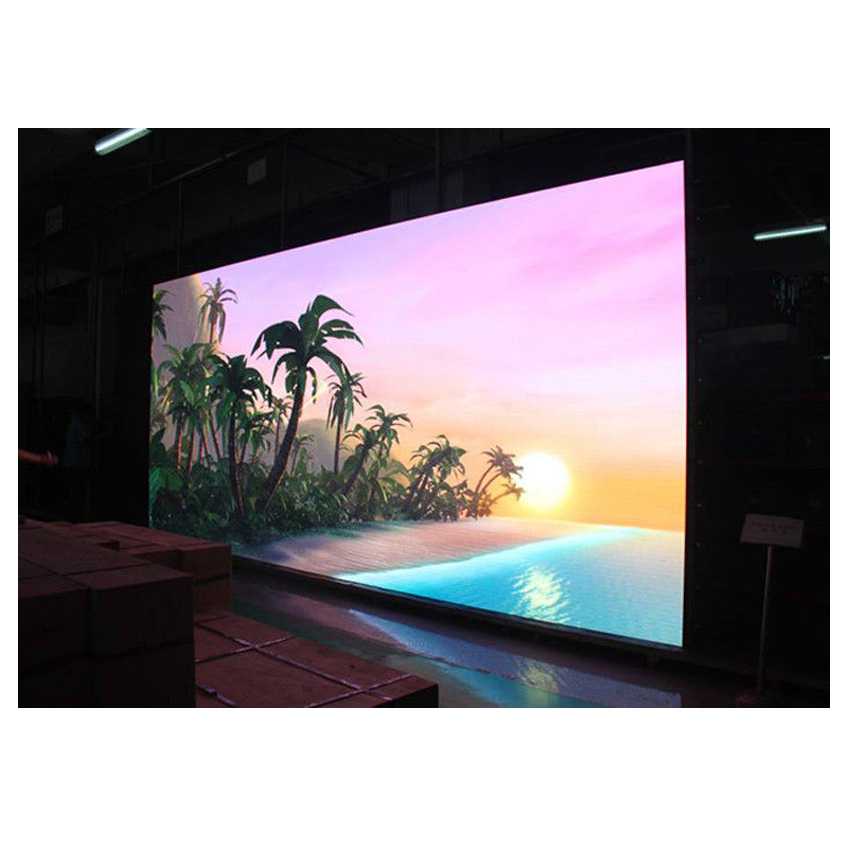 LED Video Wall Display P4 512x512mm Die Casting Aluminum Cabinet Rental Indoor Full Color Advertising Big LED Screen