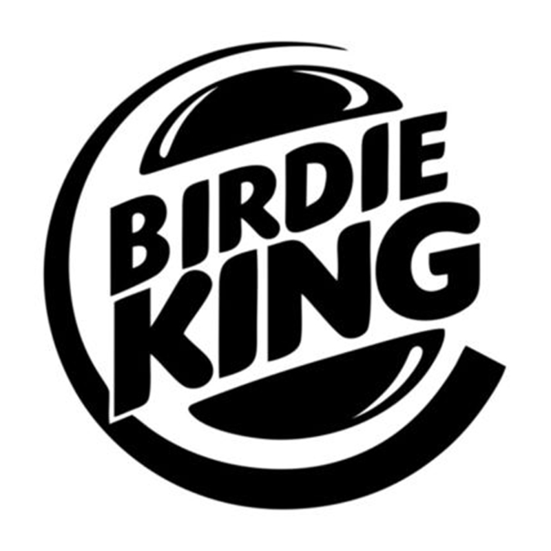 For Birdie King Golf Funny Best Decal Car Window Vinyl Decal Sticker Laptop Car Styling Vinyl Sticker