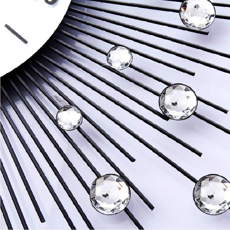 Meijswxj Lager Horloge Murale Reloj Saat Horloge Duvar Saati Horloge Murale lumineuse numérique horloges murales Relogio de parede décor à la maison - 5
