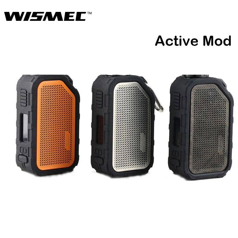 Original WISMEC actif MOD Vape 80 W avec boîte de haut-parleur Bluetooth soutien Amor NS Plus atomiseur Kit de vapoteur de Cigarette électronique