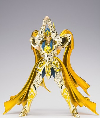 New Arrive Model CS EX Aquarius Camus God Cloth Soul Of Gold Saint Seiya Metal Armor Myth Cloth Action Figure anime action figure saint seiya myth cloth nordic god fighter alkaid red meem metal armor collectible model