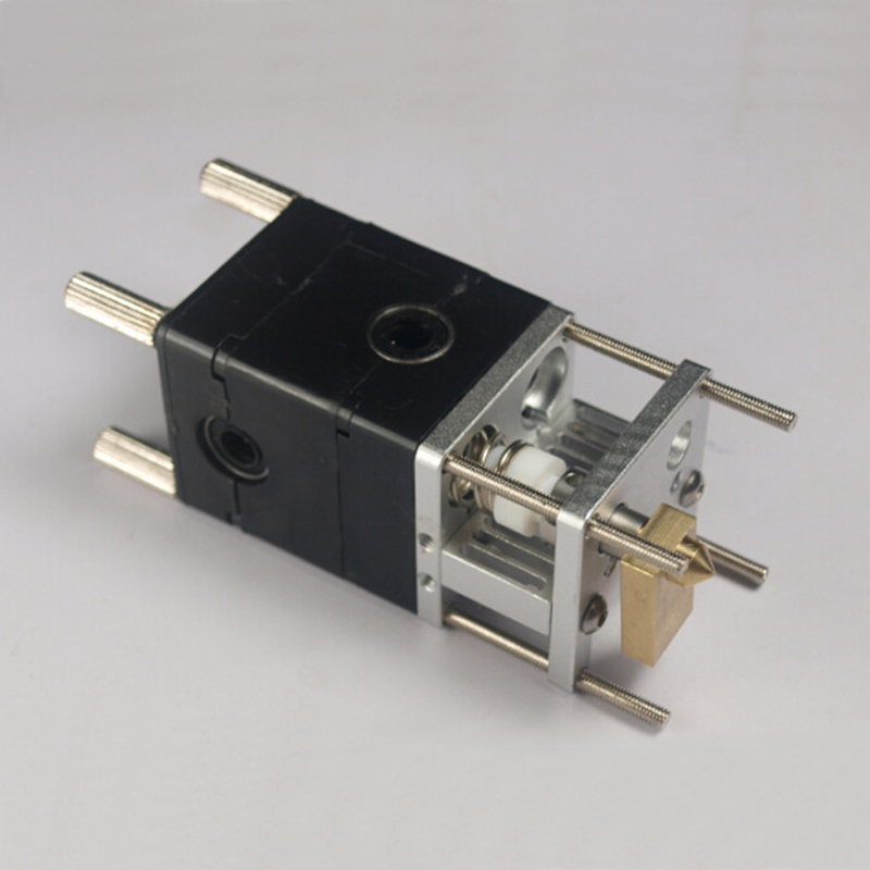 цены wholesale 3D printer um2 aluminum extruder for Ultimaker 2 hot end kit 0.4mm nozzle free shipping