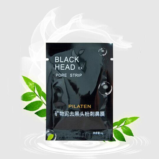 100pcs Face Care Nose Remover Mask Cleanser , Cleansing Black Head EX Pore Strip black face mask remove black head beauty makeup