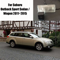 Камера автомобиля Для Subaru Outback Sport Седан/Универсал 2011 ~ 2015/Задний вид Камеры/HD CCD RCA NTST PAL/Фонарь Освещения Номерного Знака OEM