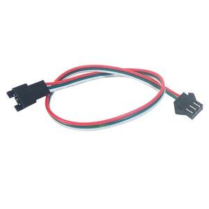 Image 5 - 100 adet 3 pin JST SM konektörü 30cm 50cm 1m 2m Led erkek dişi fiş LED konnektör kablo tel için WS2812B WS2811 SK6812 LED şerit