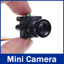 Best FPV Camera HD Excellent Night Vision 0.008Lux 520TVL 90 Degree Audio Mini CCTV Camera (5V)