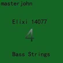 Elix NANOWEB 14077/14777 Электрические бас-струны 4/5 струны Ультра тонкое покрытие стали Stings 045-105 (045-130)