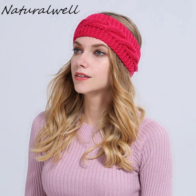 Naturalwell Frauen Crochet stirnband Frauen geschenk freundin ...