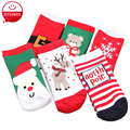 New Fashion Boys Girls Socks For Baby Kids Toddler Christmas Style Cotton Knitted Children Sock 1-6 Years