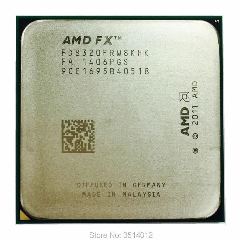 AMD FX シリーズ FX 8320 FX 8320 3.5 GHz 8 コア Cpu プロセッサ FD8320FRW8KHK ソケット AM3 +  グループ上の パソコン & オフィス からの CPU の中 1