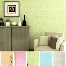 New Simple Cozy Solid Color Modern Textured Wallpaper For Walls Bedroom Living room Background Decor Non Woven Wall paper Rolls