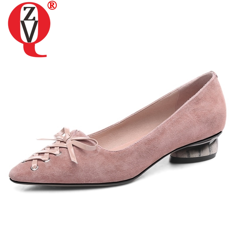 ZVQ shoes woman spring new concise kid suede pointed toe slip-on woman flats outside shallow cross-tied plus size ladies shoesZVQ shoes woman spring new concise kid suede pointed toe slip-on woman flats outside shallow cross-tied plus size ladies shoes