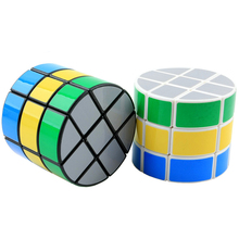 Moyu Mofang Classroom Column Redi Magic cube Stickerless Shape Cube Specail Game Cubes Educational Toys for Children Kids