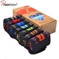 Phanteen Fibra de Carbón de Bambú 7 Días Calcetines de Hombre 7 unidades una caja Absorbente Suave Calcetines Ocasionales Cómodos Sonrisa Feliz Hombres calcetines