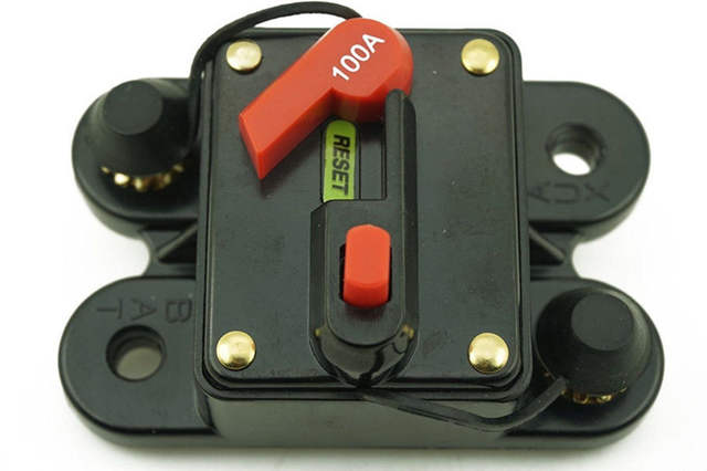 100 Amp Disconnect >> 100amp Marine Auto In Line Circuit Breaker Automatic Switch Battery