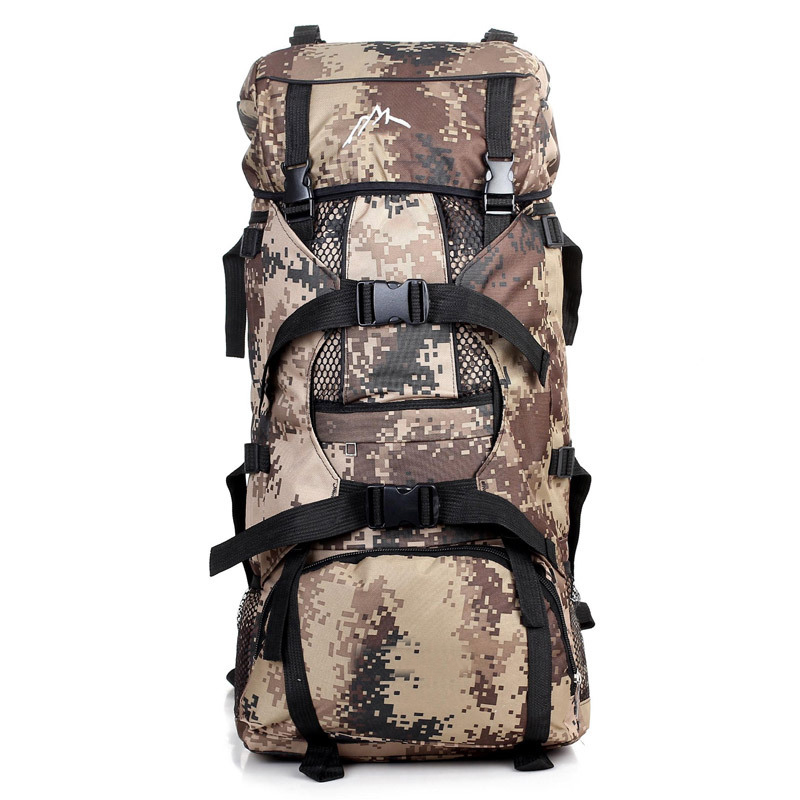 50L Nylon Outdoor Military Bag Waterproof Tactical Backpack Mochila Tactica Rucksack Trekking Hiking Camping Backpack Molle 55l molle combination backpack hiking camping mountaineer military backpack outdoor bag tactical trekking rucksack backpack camo