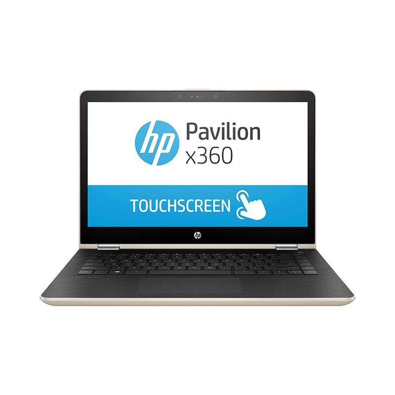 """Купить со скидкой Ноутбук HP 14-ba017ur 14""""/i3-7100U/6Гб/500Гб/NVidia 940MX/привода нет/Win10/Золотистый (1ZC86EA)"""