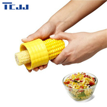 New Creative Home Gadgets Corn Stripper Cob Cutter Remove Salad Tools Kitchen Accessories Cooking Tools