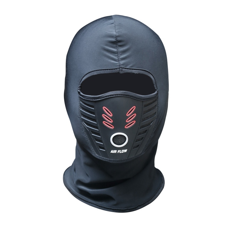Winter Warm Motorcycle Windproof Face Mask Motocross Face Masked Cs Mask Outdoor Warm Bicycle Thermal Fleece Balaclava New