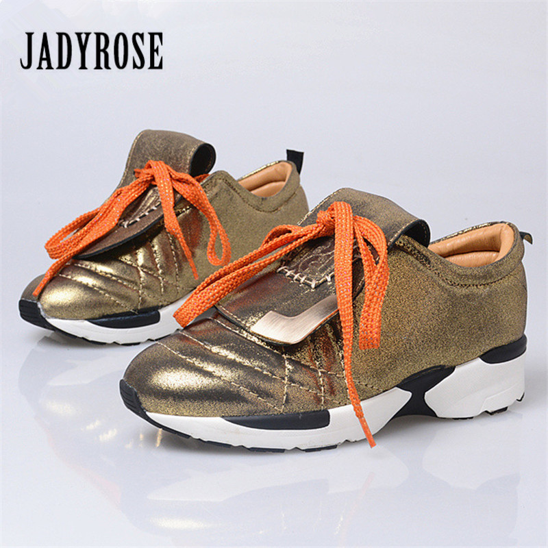 Jady Rose Fashion Women Flat Travel Shoes Lace Up Platform Creepers Female Casual Loafers Flats Ladies Shoes Tenis Feminino rihanna pu leather creepers flat platform shoes woman 2016 casual loafers black pink flats lace up women shoes