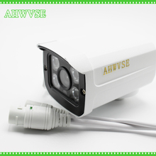 AHWVSE Aluminum Metal Waterproof Outdoor Bullet IP Camera 720P 960P 1080P 2.8mm lens Security Camera CCTV   Board ONVIF Camera