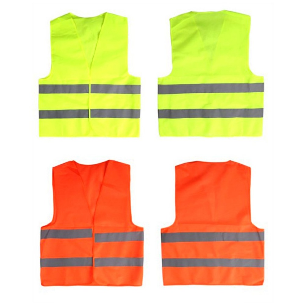 Image 4 - Yellow Reflective High Visibility Safety Vest Men & Women Work Cycling Runner Surveyor Volunteer Crossing Guard Wear-in High Visibility Jackets from Automobiles & Motorcycles