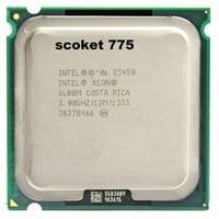 INTEL XONE E5450 Quad Core 4 Core 3 0MHZ LeveL2 12M Work On 775 With 2pcs
