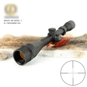 цена на 6-18x40 Riflescope Tactical Optical Rifle Scope Sniper Hunting Rifle Scopes Long Range Airsoft Rifle Scope