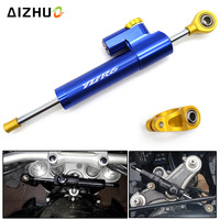 CNC Aluminum YZF R6 Motorcycle Steering Stabilizer Damper Safety Control For YAMAHA YZF R6 1999 2010 2011 2012 2013 2004