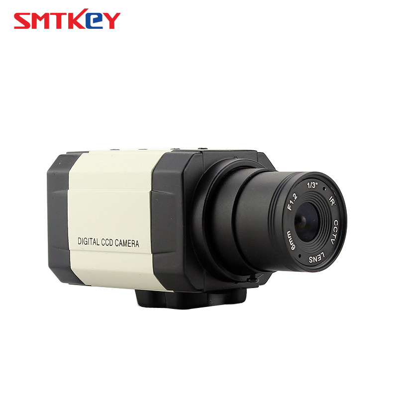 SMTKEY 700TVL Analog SONY CCD Box Camera Indoor Color Home Security CCTV CameraSMTKEY 700TVL Analog SONY CCD Box Camera Indoor Color Home Security CCTV Camera