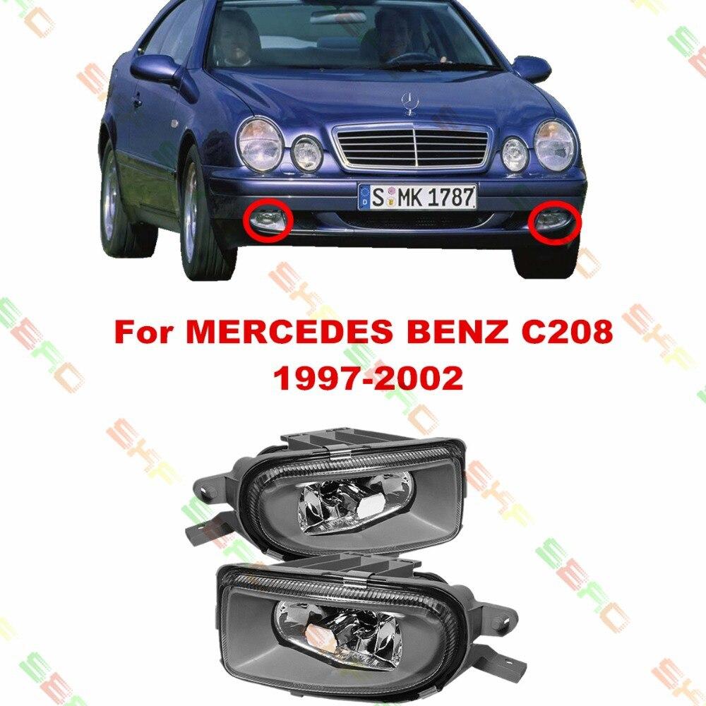 Для MERCEDES-BENZ автомобиль С208 1997-2002 укладки противотуманные фары противотуманные фары 1 комплект стекло