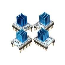4 шт. Super Silent 3D Принтер МКС TMC2100 Шагового Водитель Мотора 256 сегментов w/Stepstick, совместимость ж/32 бит Lerdge Материнская Плата