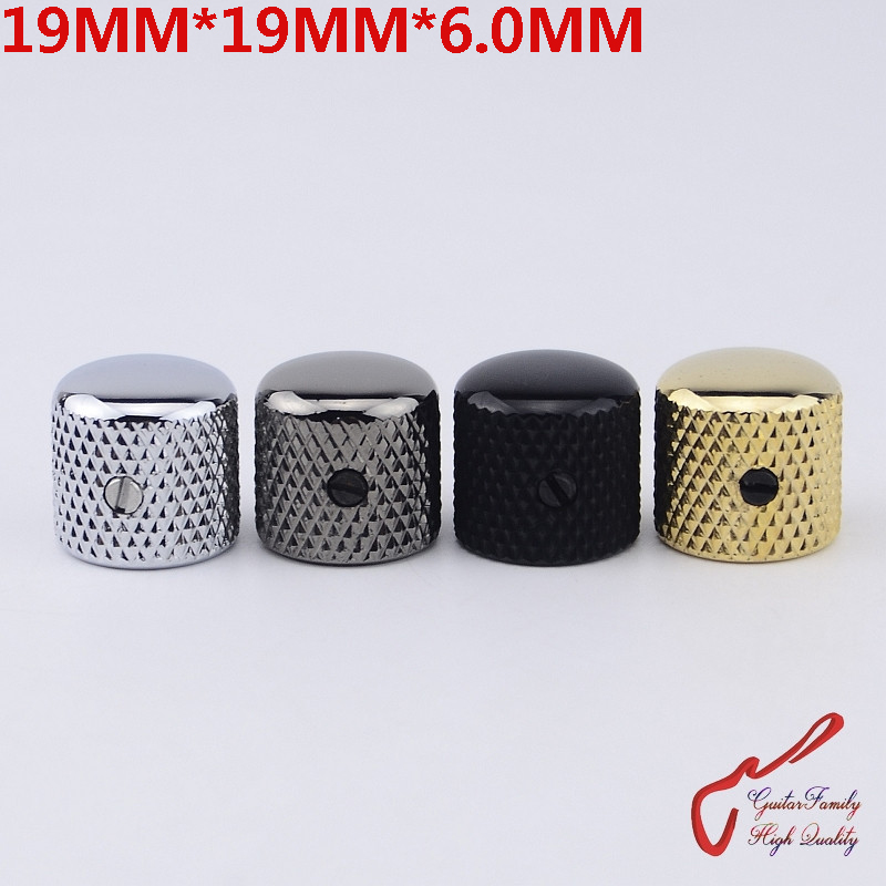 1 Piece GuitarFamily  Dome Metal Knob For Electric Guitar Bass  19MM*19MM*6.0MM  ( #0934 ) MADE IN KOREA 1 piece guitarfamily metal knob abalone inlay for electric guitar bass made in korea 18mm 18mm 6 0mm 1254