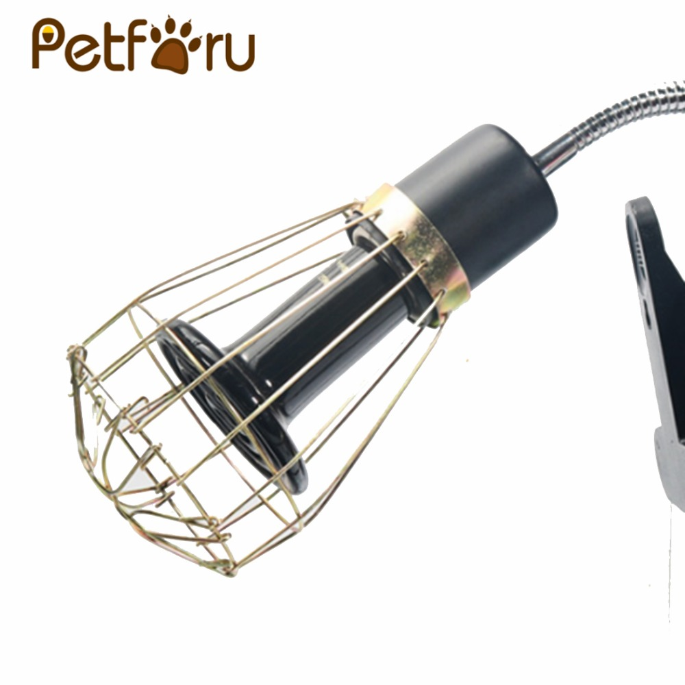 Fashion Vintage Wire Lamp Cage Anti-scald Wire Light Lampshade Reptile Feeding Box Protective Lamp Cage Nordic Bulb Cover-metal