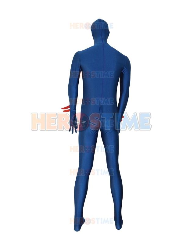 Gratis verzending Spider-man 2099 marineblauw spandex aangepaste - Carnavalskostuums - Foto 4