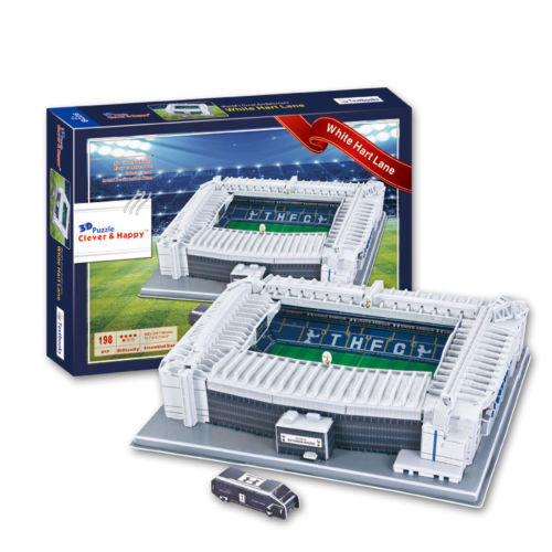 Tottenham 'White Hart Lane' Stadium 3D Puzzle Speelgoed en spellen ...